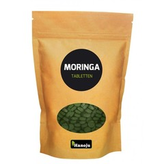 Hanoju Moringa oleifera heelblad 500 mg (500 tabletten)