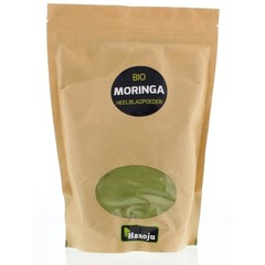 Hanoju Bio moringa oleifera heelblad poeder (500 gram)