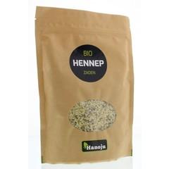 Hanoju Bio hennep zaden paper bag (250 gram)