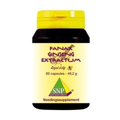 SNP Panax ginseng extra & royal jelly (60 capsules)