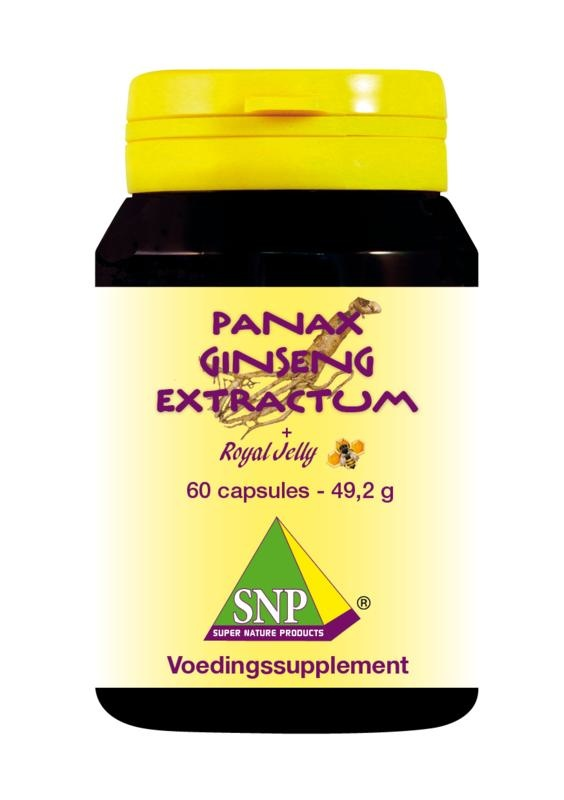 SNP SNP Panax ginseng extra & royal jelly (60 capsules)