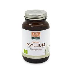 Mattisson Psyllium Husk 750 mg biologisch (90 vcaps)