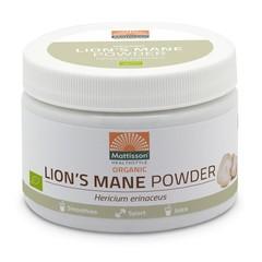 Mattisson Lion's mane poeder biologisch (100 gram)