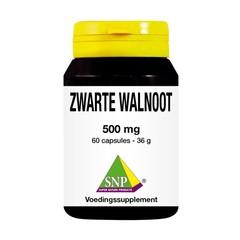 SNP Zwarte walnoot 500 mg (60 capsules)