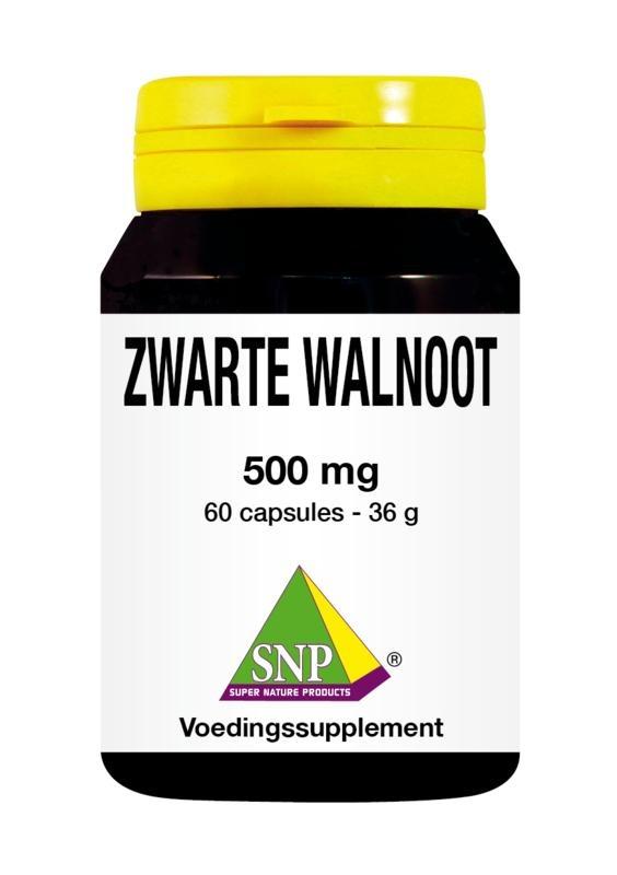 SNP SNP Zwarte walnoot 500 mg (60 capsules)