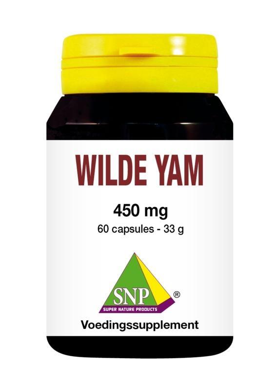 SNP SNP Wilde yam 450 mg (60 capsules)