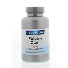 Nova Vitae Fulvinezuur 250 mg (60 vegacaps)
