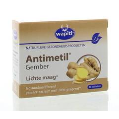 Wapiti Antimetil gember (30 tabletten)
