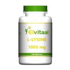 Elvitaal L-Lysine 1000 mg (100 tabletten)
