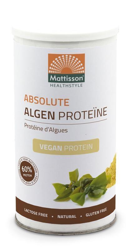 Mattisson Mattisson Absolute algen proteine vegan 60% (450 gram)