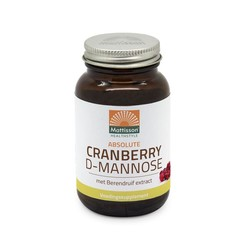 Mattisson Cranberry D-mannose met berendruif extract (90 tabletten)
