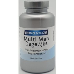 Nova Vitae Multi man dagelijks (60 capsules)