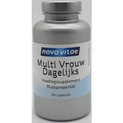 Nova Vitae Multi vrouw dagelijks (60 capsules)