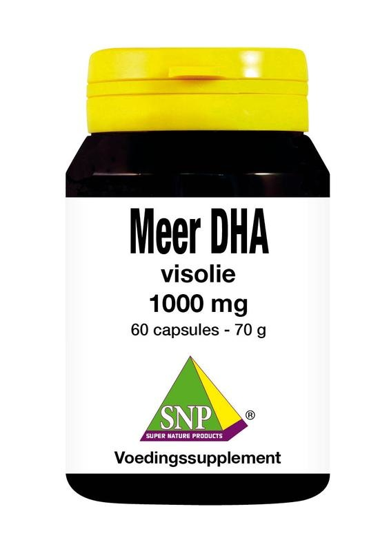 SNP SNP Meer DHA visolie (60 capsules)