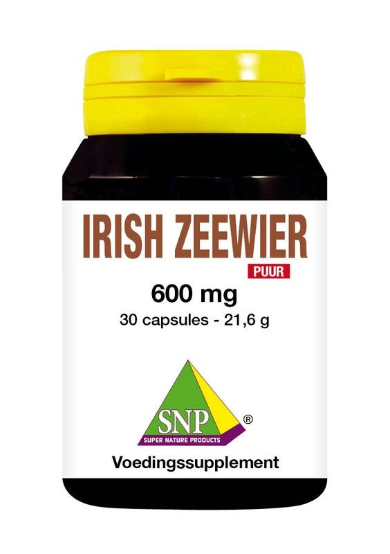 SNP SNP Irish zeewier 600 mg puur (30 capsules)