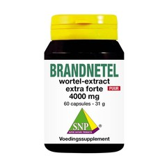 SNP Brandnetelwortel extract 4000 mg puur (60 capsules)