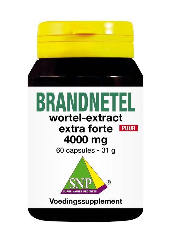 SNP SNP Brandnetelwortel extract 4000 mg puur (60 capsules)