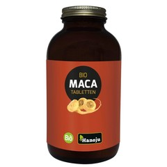 Hanoju Maca red organic premium 500 mg (720 tabletten)