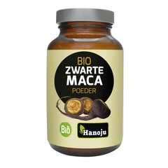 Hanoju Maca black organic powder (100 gram)