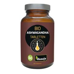 Hanoju Ashwagandha organic 500 mg (600 tabletten)