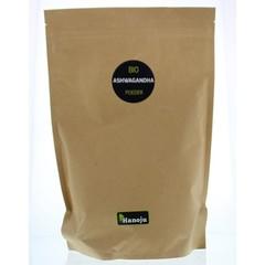 Hanoju Ashwagandha organic poeder (1 kilogram)