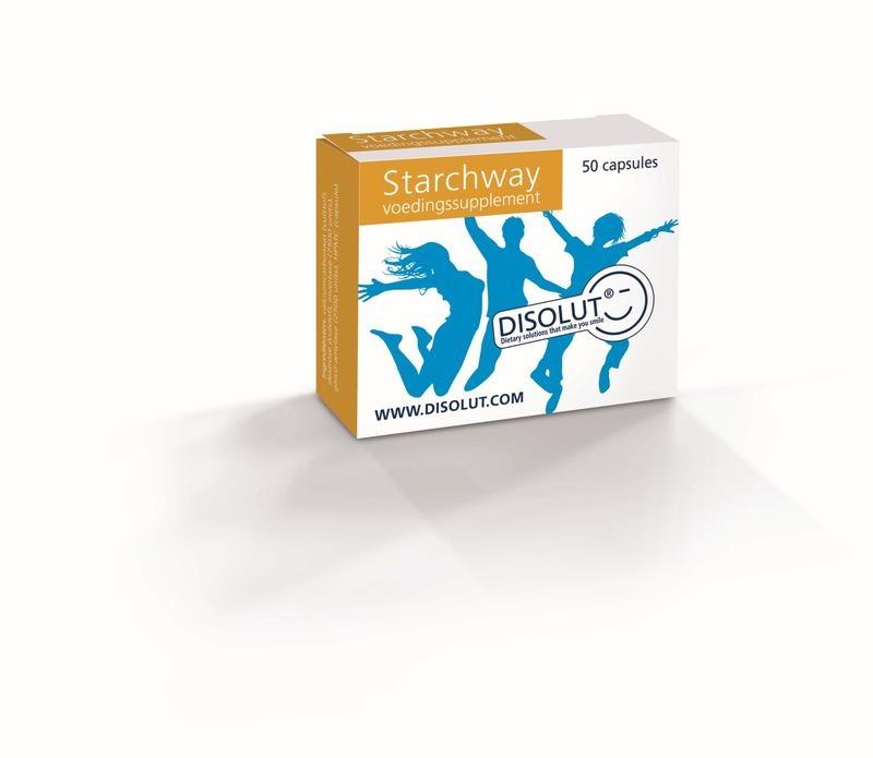 Disolut Disolut Starchway invertase glucoamyl (50 capsules)