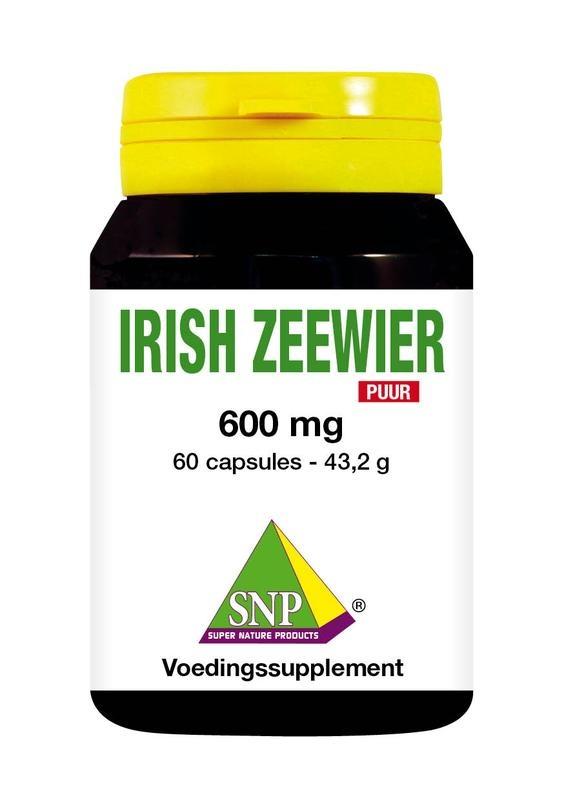 SNP SNP Irish zeewier 600 mg puur (60 capsules)