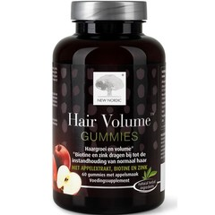 New Nordic Hair volume gummues (60 stuks)