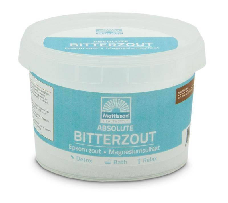 Mattisson Mattisson Bitterzout epsom zout magnesiumsulfaat (275 gram)