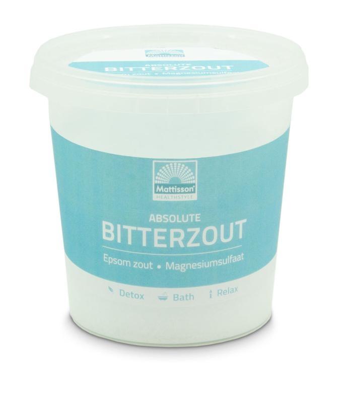 Mattisson Mattisson Bitterzout epsom zout magnesiumsulfaat (650 gram)