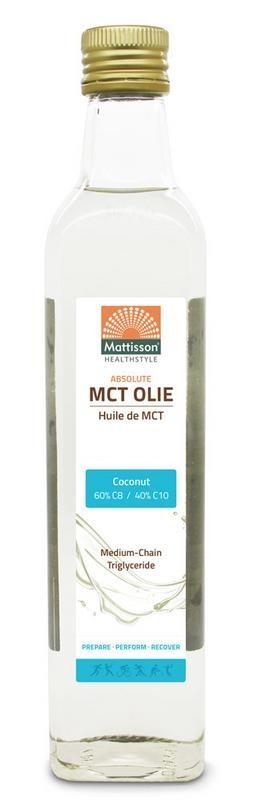 Mattisson Mattisson MCT olie blend C8 60% C10 40% (250 ml)