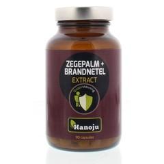 Hanoju Zegepalm & brandnetel extract (90 capsules)