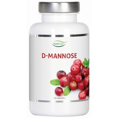 Nutrivian D-Mannose 500 mg (50 capsules)