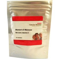 Care For Women D-Mannose (30 tabletten)