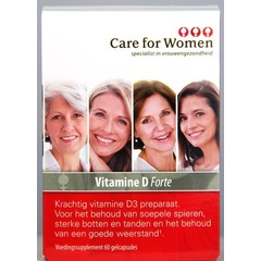Care For Women Vitamine D forte (60 capsules)