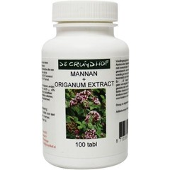 Cruydhof Mannan + origanum extract (100 tabletten)