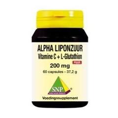 SNP Alpha liponzuur 200 mg puur (60 capsules)