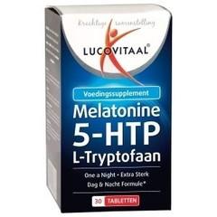Lucovitaal Melatonine L-tryptofaan 0.1 mg (30 tabletten)