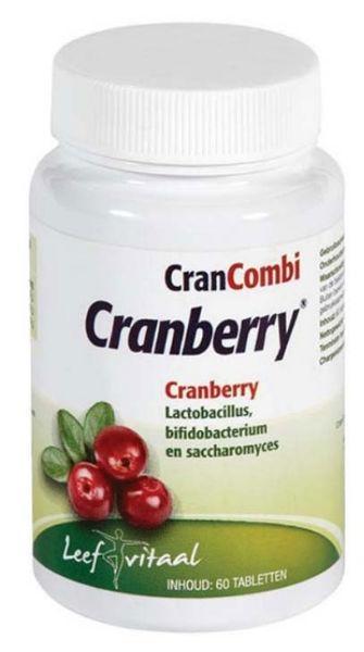 Leef Vitaal Leef Vitaal Cranberry extra forte (60 tabletten)
