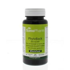 Sanopharm Phyte-back antioxidanten wholefood (30 capsules)