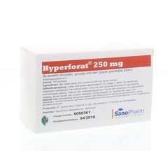 Dr Klein Hyperforat 250 mg (100 tabletten)