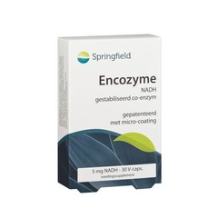 Springfield Encozyme NADH 5 mg (30 capsules)