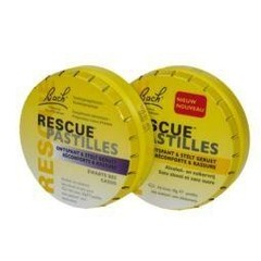 Bach Rescue pastilles zwarte bes (50 gram)