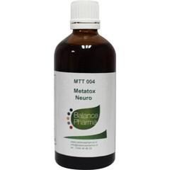 Balance Pharma Metatox ontwenning II neuro 04 (100 ml)