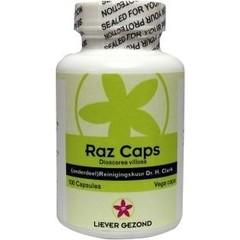 Liever Gezond Raz capsules (100 capsules)