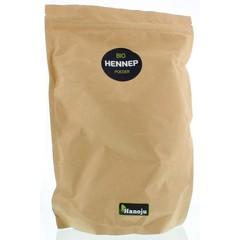 Hanoju Bio hennep poeder paper bag (1 kilogram)