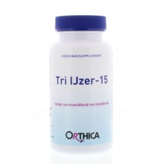 Orthica Tri ijzer 15 (90 tabletten)