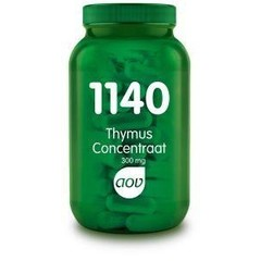 AOV 1140 Thymus concentraat 300 mg (60 capsules)