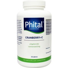 Phital Cranberry + C (250 tabletten)