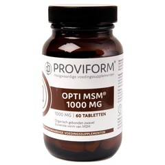 Proviform Opti MSM 1000 mg (60 tabletten)